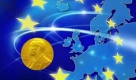 "EU receives Nobel Prize for ""douce violence"""