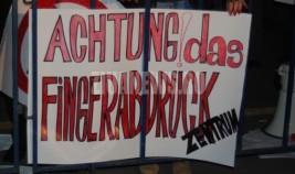 Protest în fața Ambasadei Germaniei